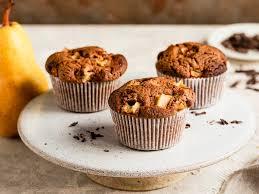 schoko birnen muffins einfach und schnell selber backen
