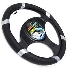 Faux Leather Steering Wheel Cover For Auto Car Truck Van SUV Black ... Truck Steering Wheel Cover Black Silver 4446cm Roadkingcouk Brown Masque Grey 4748cm 14 F814h Forever Sharp Wheels Scania 3series Black Real Italian Leather Steering Wheel Cover 1987 Wheel In A Truck Stock Photo Image Of Switches 40572066 Fichevrolet Ww Ii Fire Eagle Field Two Steering Wheeljpg Bestfh Rakuten Leather Car Auto American Simulator Youtube Pro Usa Chevy Gm Perforated Ss