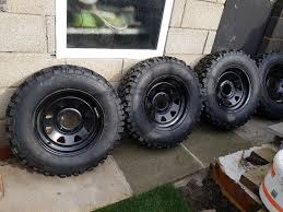 100 4x4 Truck Rims 16 Inch Weller Wheels And Brand New Off Road Tyres In York