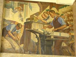 Harlem Hospital Wpa Murals by This Mural By Charles Wells Depicts Scenes From The New Deal And