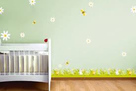 frise chambre bebe ds136 10 stickers marguerites deco sticker mural