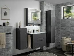 fackelmann badmöbel set schwarz anthrazit badezimmer