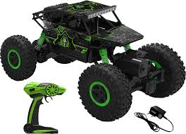 Buy Webby Remote Controlled Rock Crawler Monster Truck, Green ... Daymart Toys Remote Control Max Offroad Monster Truck Elevenia Original Muddy Road Heavy Duty Remote Control 4wd Triband Offroad Rock Crawler Rtr Buy Webby Controlled Green Best Choice Products 112 Scale 24ghz The In The Market 2017 Rc State Tamiya 110 Super Clod Buster Kit Towerhobbiescom Rechargeable Lithiumion Battery 96v 800mah For Vangold 59116 Trucks Toysrus Arrma 18 Nero 6s Blx Brushless Powerful 4x4 Drive