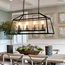 Black Dining Room Chandelier Chandeliers Rustic Retro Wrought Iron Images