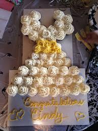 Wedding Dress Cupcake Cake On Central