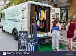 100 Truck Store Miami Beach Florida Ocean Drive Popup Store Trendy