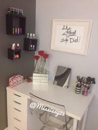 Diy Floating Desk Ikea by Ikea Diy Vanity Alex Drawers Tabletop And Legs Minimalist White