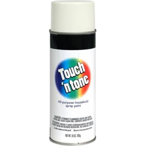 Rust-Oleum Touch 'N Tone Spray Paint - 10oz, White