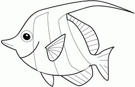 Click To See Printable Version Of Angelfish Coloring Page