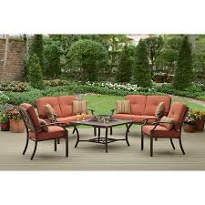 Patio Furniture Conversation Sets With Fire Pit by Better Homes And Gardens Sonoma Falls 5 Piece Patio Conversation