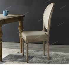 china luxus esszimmer möbel runde zurück eichenholz design