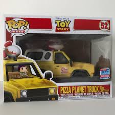 100 Pizza Planet Truck Disney Toy Story Buzz Lightyear Funko Pop Depop