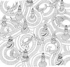 Zen Garden Adult Coloring Book 31 Stress Relieving Designs Artists