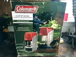 Coleman Propane Coffee Maker Outside Tire
