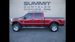 100 2014 Ford Diesel Trucks LIFTED FORD F250 POWERSTROKE DIESEL 4WD XLT RUBY RED WALK AROUND REVIEW SOLD 9250 SUMMITAUTO