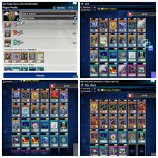 Yugioh Deck Tester App by Got King Of Games A Few Hours Ago Here Are My Decks Duellinks