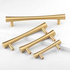großhandel massiv messing gebürstet gold tbar küchenschrank griff schublade dresser knob schrank badezimmer pull möbel hardware großhandelspreis