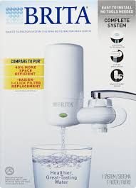 Pur Faucet Mounted Water Filter by Brita On Tap Faucet Water Filter System Includes 1 System 2