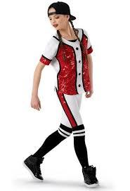 Weissman Hip Hop Baseball Uniform Costume