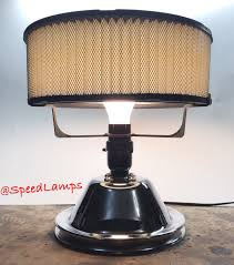Uno Fitter Replacement Lamp Shade by Camshaft Lamp Table Desk Car Parts Industrial Art Man Cave