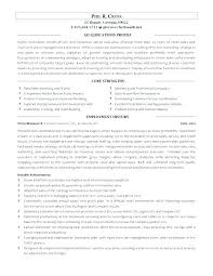 Sample Resume For Retail Supervisor Assistant Store Manager