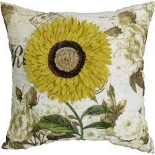 Sunflower Bath Gift Set by Better Homes And Gardens Coral Sunflower Pillow Walmart Com