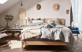 schlafzimmer rustikal dekorieren einrichten ikea deutschland