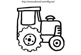 Coloriage Tracteur 73 Dessin
