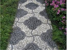 Multicolor Pebbles Gravels Mixed Pebble MosaicPolished PebbleLandscaping Nature Stone