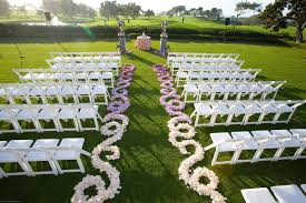 Unique Fabulous Flower Decorating For Fascinating Garden Wedding Ideas With Lawn Floor