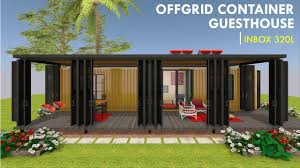 100 Shipping Container Guest House Offgrid House Design Floor Plans