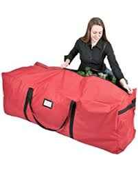 Upright Christmas Tree Storage Bag by Amazon Com Santas Bags Rolling Tree Storage Duffel For 6 To 9