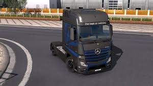 MERCEDES BENZ ACTROS 2014 - METALLIC PAINTJOB BY L1ZZY TRUCK SKIN ...