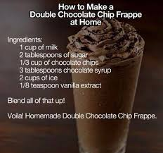 Craving A Starbucks Double Chocolate Chip Frappe Look No Further