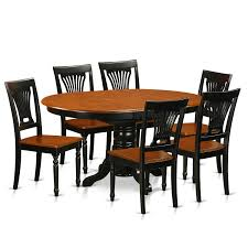 Shop Traditional Black Finish Solid Rubberwood 7-piece Dining Set ... Vintage Kitchen Table And Chairs Set House Architecture Design Shop Greyson Living Malone 70inch Marble Top Ding Westlake Transitional Cherry Wood Pvc Leg W6 The 85ft W 6 Forgotten Fniture Homesullivan 5piece Antique White And 401393w48 Plav7whiw Rubberwood 7piece Room Free Shipping Cerille Rustic Brown Of 2 By Foa Amazoncom America Bernette Round East West Niwe6bchw Pc Table Set With A