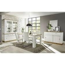 details zu esszimmermöbel set pinie weiß eiche buffetschrank 150cm esstisch sideboard regal