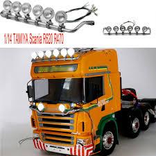 100 Rc Tamiya Trucks Replace Highline RC TAMIYA Scania R620 R470 Model LED