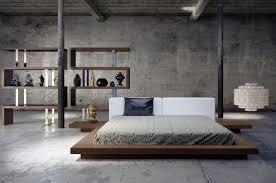 Worth Modern Platform Bed by Modloft L angolo Furniture & Art