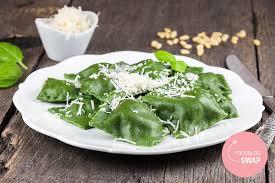 Pumpkin Ravioli Filling Ricotta by Spinach And Ricotta Ravioli Ohmydish Com