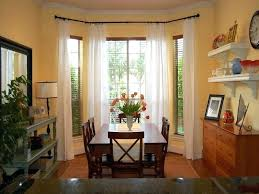 Dining Room Window Curtains White Design With Incredible Curtain For