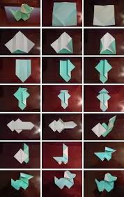 How To Fold Origami Paper Puppy Dog Step By DIY Tutorial Instructions Ashleyw
