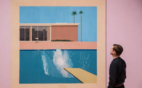 david hockney s tate britain retrospective demands to be seen review