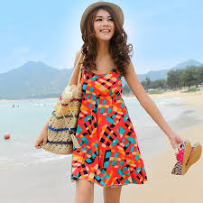 bringing bold in beach dresses medodeal