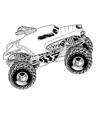 Awesome Monster Truck Coloring Pages 24 #5884 Coloring Pages Monster Trucks With Drawing Truck Printable For Kids Adult Free Chevy Wistfulme Jam To Print Grave Digger Wonmate Of Uncategorized Bigfoot Coloring Page Terminator From Show For Kids Blaze Darington 6 My Favorite 3