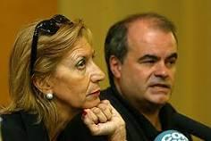 Carlos Martínez Gorriarán, junto a Rosa Díez (UPyD)