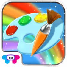 Icono De Paint Sparkles Coloring Book