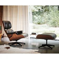Limited Edition Mahogany Eames Lounge Chair And Ottoman - Vitra - ARAM Vitra Eames Lounge Chair Classic Size White Walnut Leather Zane In Oatmeal Twill Wool Plywood Series Nero Leather Premium Black Ash Wood Replica Ivory White Chicicat Wwwmahademoncoukspareshtml Ottoman By Charles Ray 1956 Designer And Herman Miller Buy Online Bhaus Classics From Wellknown Designers Like Le E Style Swivelukcom Lounge Chair Rosewood Eakus Tall Chocolate Cherry The