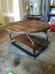 Industrial Pipe Coffee Table Pallet