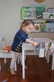 Toddler Art Desk Australia by Freckles Quinn U0027s Art Table An Ikea Latt Hack
