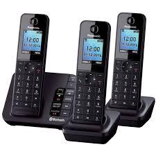 Trio Panasonic KX-TGGH263 Cordless Phones - LiGo.co.uk Panasonic Cordless Phone And Answering Machine With 2 Kxtgf342b Voip Phones Polycom Desktop Conference Kxtgc223als Reviews Productreviewcomau Design Collection Phone Answering Machine Voip8551b Kxtgp550 Sip System Kxtg6822eb Twin Dect Telephone Set Amazonco Officeworks Kxtg5240m 58 Ghz Fhss Gigarange Supreme Expandable Kxtgp0550 For Smb Youtube Kxtgp 500 Buy Ligo Amazoncom Kxtgd220n 60 Digital Corded Home Office Telephones Us